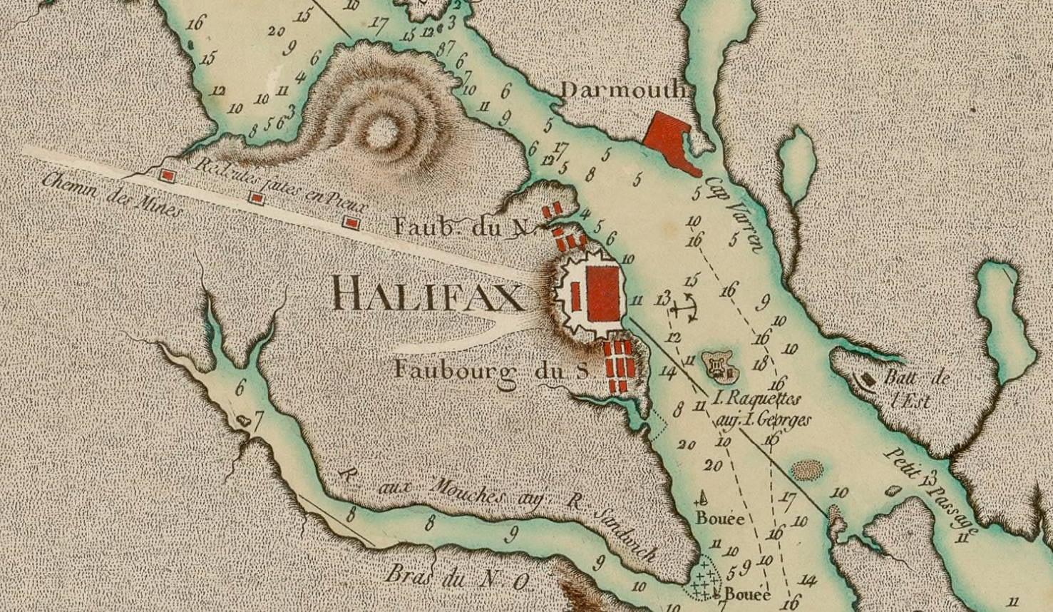 Plan du port de Chibouctou