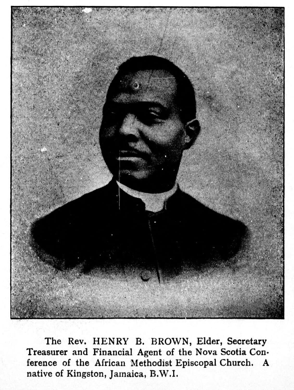 Missionary enterprise among the [Black] people of the Maritime Provinces of Canada