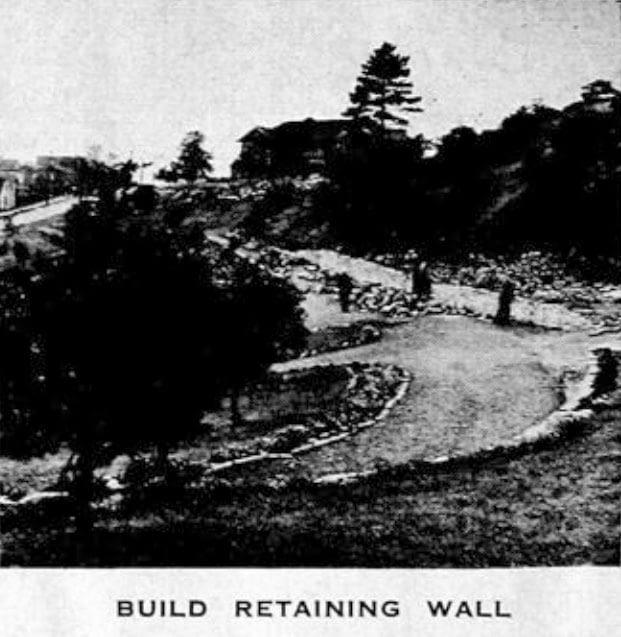 Build Retaining Wall in Dartmouth Park