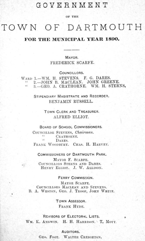 Annual Report 1890