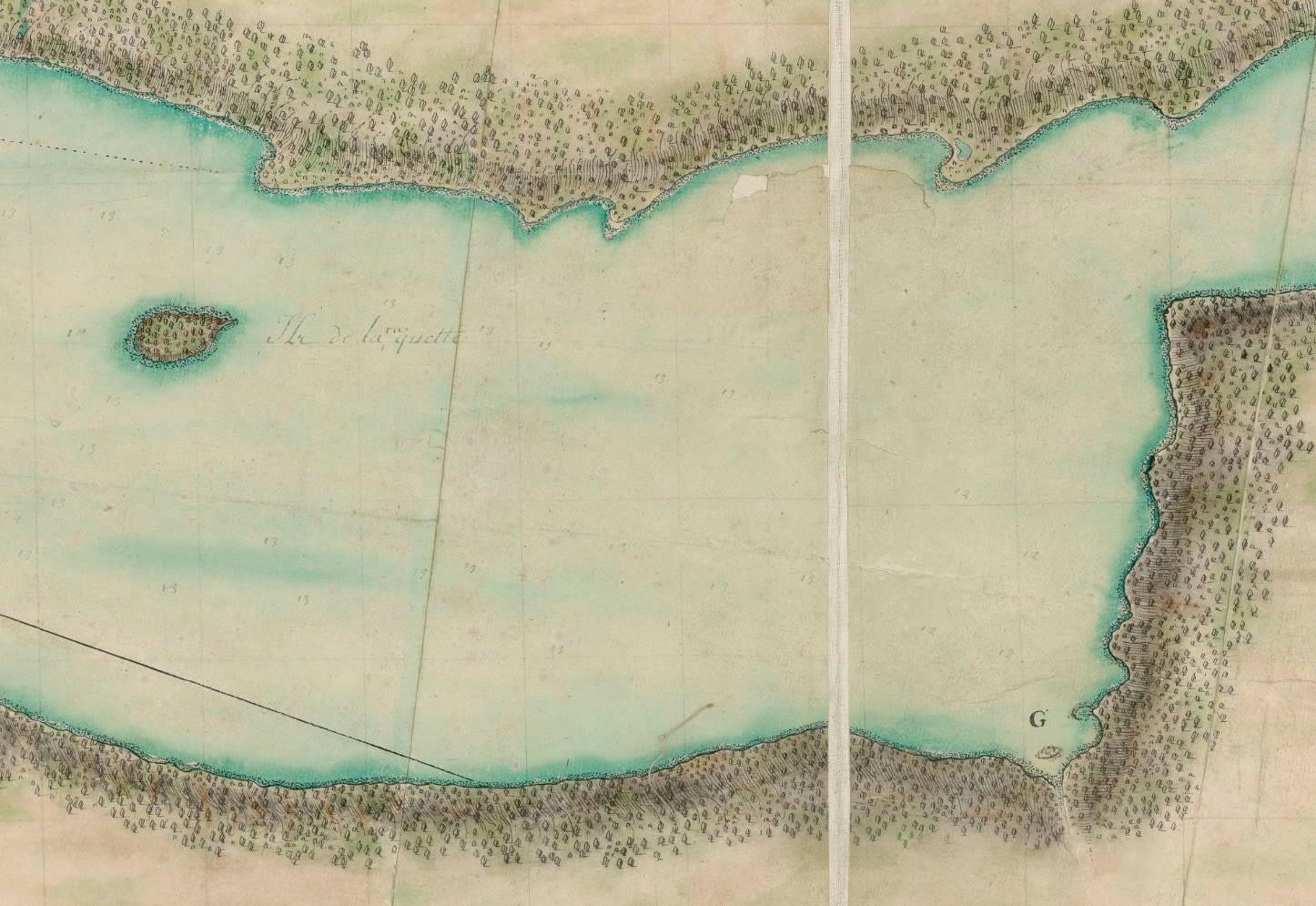 Carte de la baye de Chibouctou