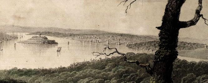 Halifax (and Dartmouth) (Nova Scotia), from McNab's Island