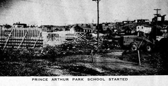 Prince Arthur Park School started